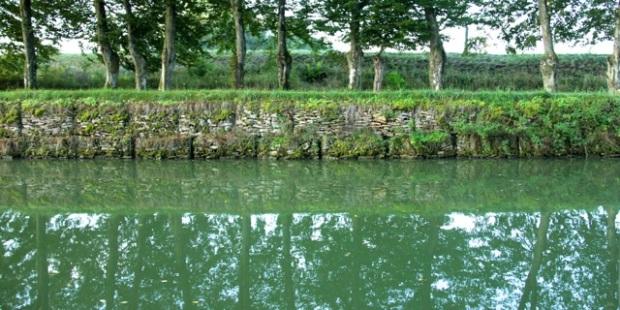 Canal Champagne Bourgogne efterår