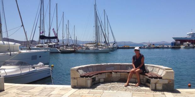 Havnen i Naxos